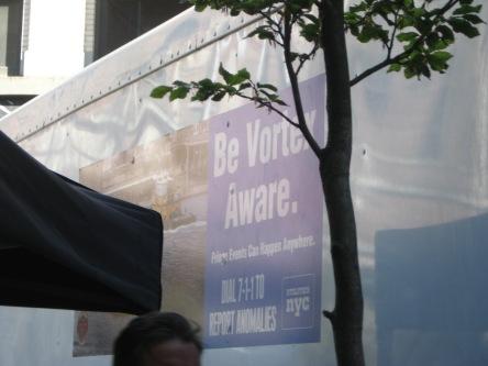 Be Vortex Aware