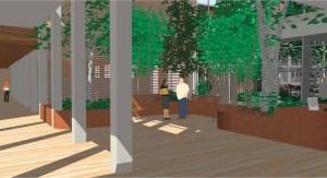 Bio-Psycho-Social Courtyard (Lower)