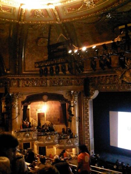 Inside the Elgin Theatre