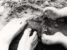 Little Feet. Image by Heather Button. Copyright © http://heatherbutton.com
